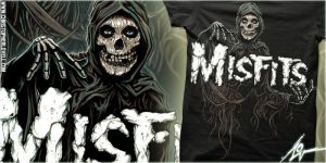 MISFITS - MYSTIC FIEND - CHRISTOPHER LOVELL ART by Lovell-Art