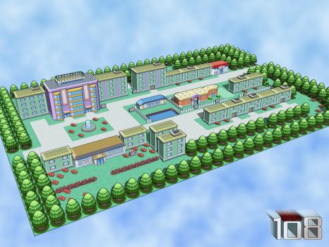 Celadon City 3D by Drew108
