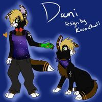 Dani design by BrittishKitsune