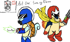 Act One: Sons of D'aww by AkariMMS