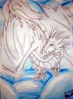 Frost Dragon by Snappedragon