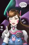 D.Va: GG by UsagiLovex