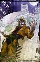 Dio and The World by Kenpudiosaki