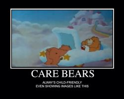 Care Bears Motivational Poster by thearist2013