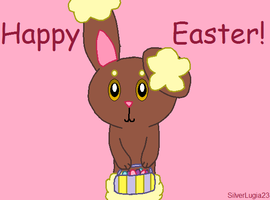 Easter Buneary by SilverLugia23