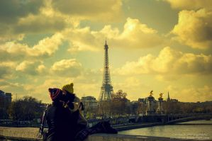 Yellowish French Kiss by oO-Rein-Oo
