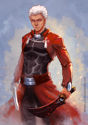 Archer - Unlimited Blade Works by ayashige-doodles