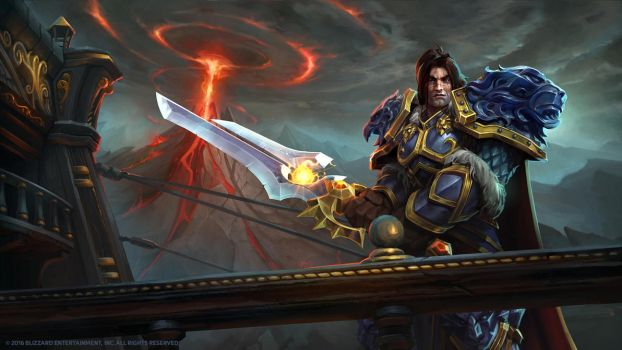 Varian, High King of the Alliance by Mr--Jack