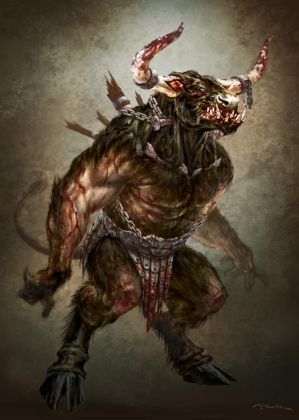 God of War III- Minotaur