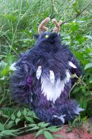 Warcraft - moonkin plushie by neko-crafts