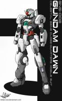 Gundam Dawn GNS-002 by Tekka-Croe