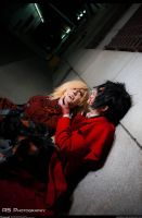 Hellsing Cosplay - Alucard x Seras - As Expected by Redustrial-Ruin