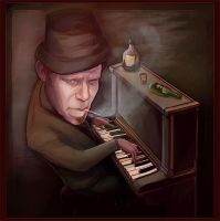 Tom Waits by whoreray