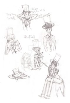 The Greed-Ler sketches by Blackofe