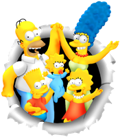 SimpsonsColoring by casshimee