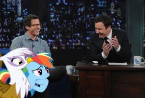 Late Night With Jimmy Fallon by RicRobinCagnaan