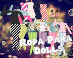 Ropa Para Dolls6 by meLswag