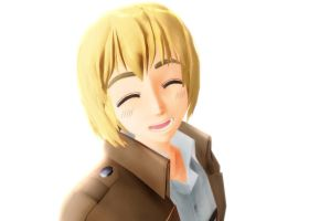 Armin Arlert .:MMD:. by animelover876