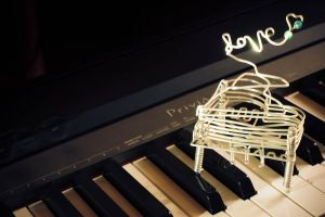 LOVE IS LIKE A PIANO by ARTCELO