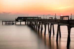 Pier at Sunrise by PeteLatham