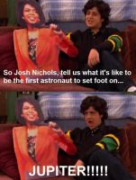 Drake and Josh : Josh with Oprah by 4xis-Powers