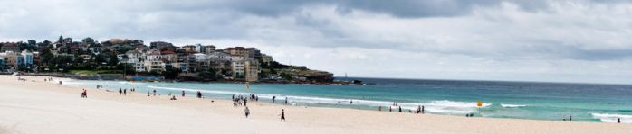 Bondi Beach Panorama by misslucha