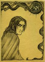 Young Snape by NitroFieja