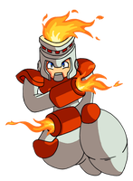 Fire Man's Burning Justice by JamesmanTheRegenold