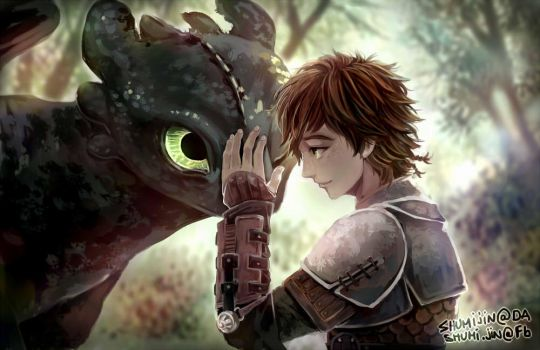 How To Train Your Dragon 2 by Shumijin
