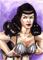 Bettie Page 1777 by Csyeung