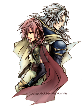 WoL and Lightning by lacrimadoll