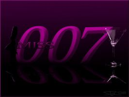 The newest Miss 007 background by ryansd