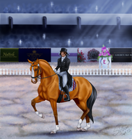 Olympics 2013 - Dressage by Joybird