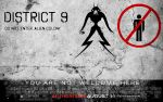 District 9 - movie poster by indu111