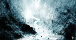 Escape from the Ice Cavern by jordangrimmer