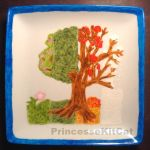 Seasons Artictic Plate by PrincesseKitCat