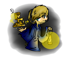 Speedpaint/FA: Pewdiepie and Stephano by sariasong64