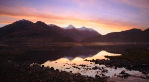 Five sisters of Kintail, Highlands, Scotland, UK by younghappy