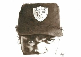 Ice Cube Pencil Sketch by DJMark563