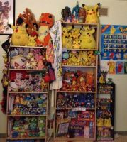 Pokemon Collection Close-up Shot by TheCartoonKid