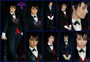 Penguin/Oswald Cobblepot Gotham Cosplay Collage by AmmieChan