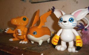 My Digimon Toys by Blood-Moon1979