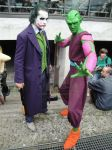 Piccolo with joker by Heartofdevil-cosplay