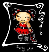 Gothic Love Pictures on Deviantart  More Like Gothic Pucca  Funny Love  By  Wte