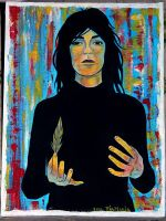Patti Smith by Tia666
