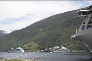 Cruise ship Flaam, Norway 4 by enframed