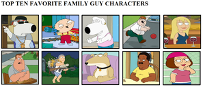My Top 10 Family Guy Characters by T-Shadow-Dragon