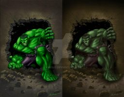 Hulk - Marvel Sample by Maiolo