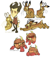 HORNED BUNNIES - Don't Starve by LiLaiRa