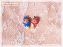 Kaden and Kasara Baby Charms by HanaHermione